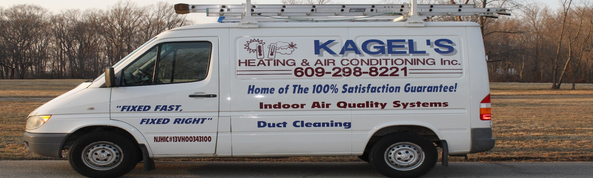 Heating and Air Conditioning company truck